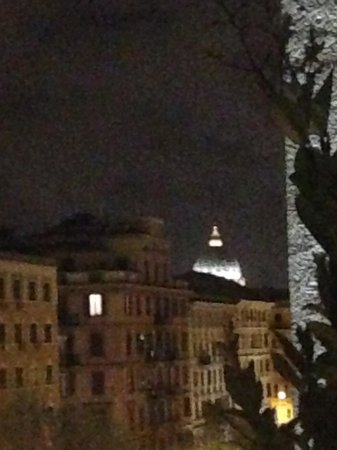 Twentyone Hotel: The view from my balcony at night