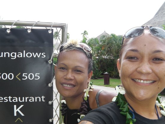 Sofitel Moorea Ia Ora Beach Resort : face au restaurant Pure