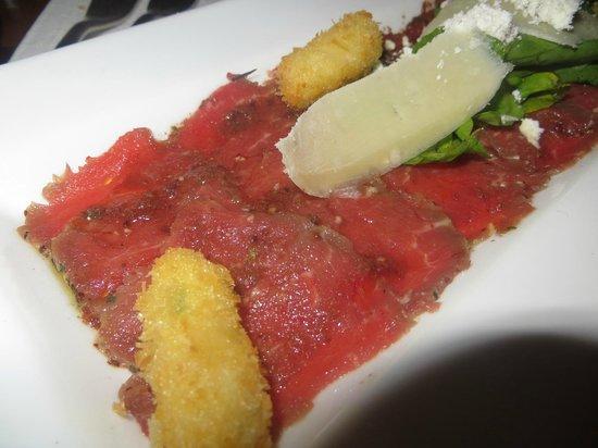 Indigo: Beef Carpaccio (YUM)