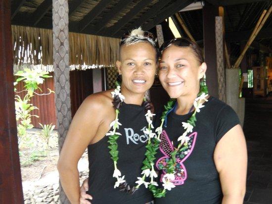 Sofitel Moorea Ia Ora Beach Resort : staff attentif et accueillant