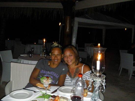 Sofitel Moorea Ia Ora Beach Resort: dîner romantique au K