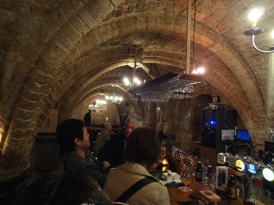 Le Trappiste: The vaulted ceilings are magnificent