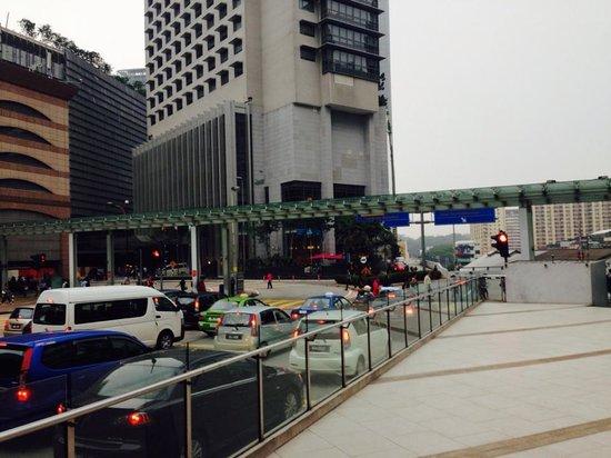 Aloft Kuala Lumpur Sentral: The hotel from starbucks