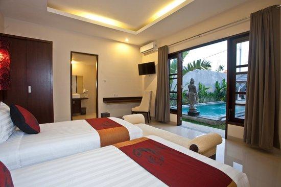 Dsawah Villa Umalas: Twin Room