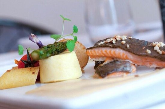 La Taverne : La truite crème légère iodée