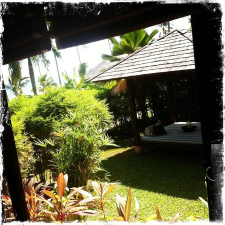 Belmond Napasai: Garden Villa with covered platform