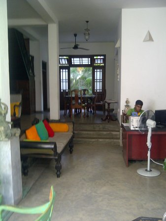 The Reed Boutique Hotel: entrance foyer of guest house
