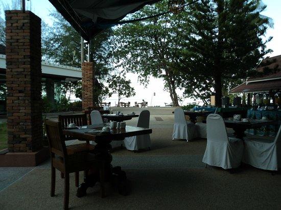 Krabi Resort: View at breakfast