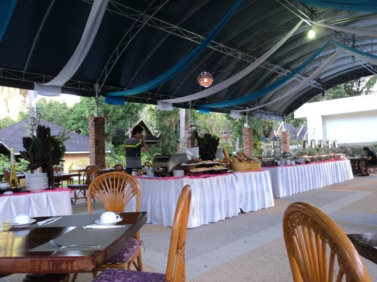 Krabi Resort : Breakfast time
