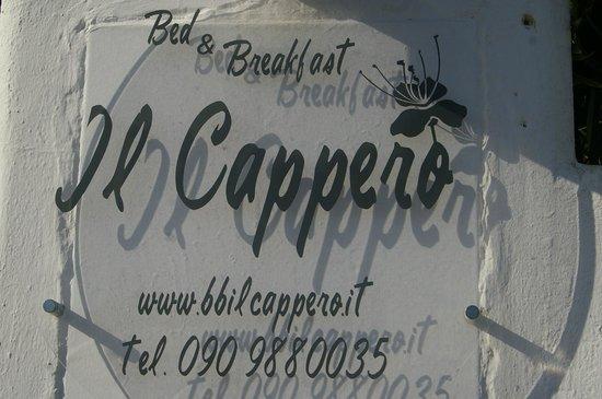 B&B Il Cappero: Il Cappero, Hausschild