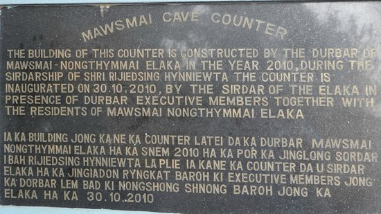 Mawsmai Cave: Description
