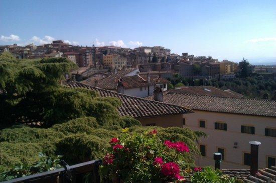 Primavera Mini Hotel: View from our terrace.