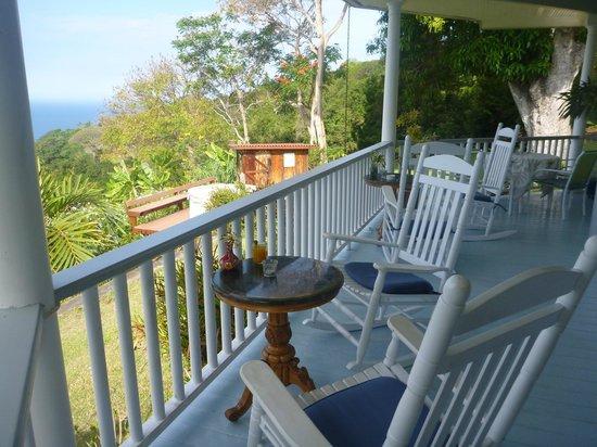 Ka'awa Loa Plantation : veranda
