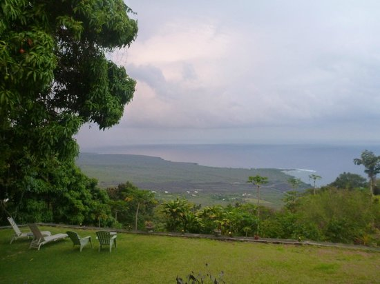Ka'awa Loa Plantation: view of captain cook