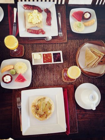 Villa Bali Asri: Amazing breakfast...