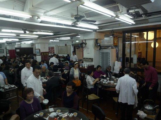 Lin Heung Tea House: locale