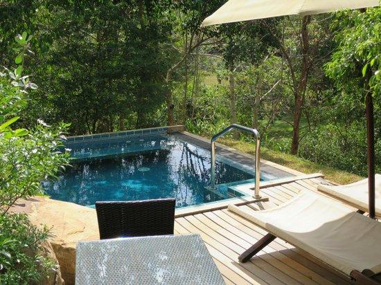 Uga Ulagalla : Private plunge pool