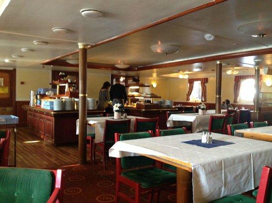 M/S Birger Jarl Hostel & Hotel: Sala colazione