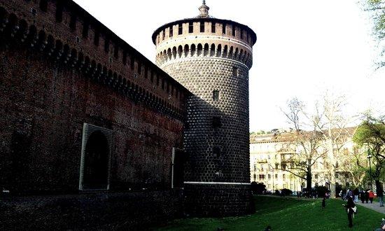 Castello Sforzesco: Particolare3
