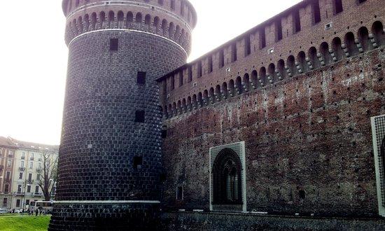 Castello Sforzesco: Particolare