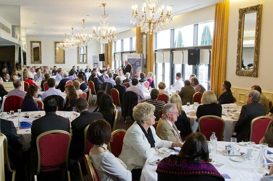 The d Hotel Drogheda : A busy River Ballroom home to the McEvoy Accountants Business Lunch. (Photo: ShaneMaguire.ie)