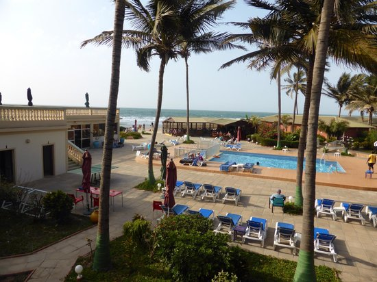 Sunset Beach Hotel: view from our room