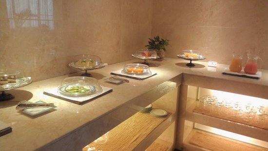 Wenzhou International Hotel: pastries at afternoon tea free for executive floor guests