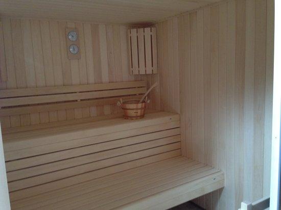 Camping La Plage: Sauna