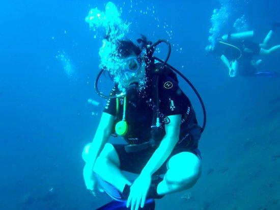 Blue Season Bali: love to do underwater poses