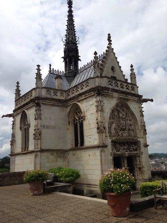 Château d'Amboise : Тут покоится великий Леонардо да Винчи