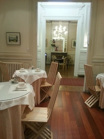 BEST WESTERN Grand Hotel Francais: Ground floor breakfast area