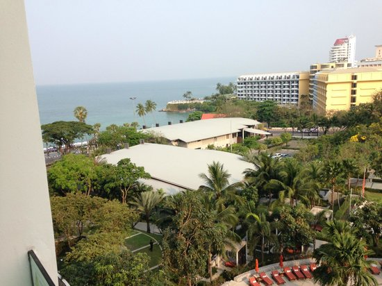 Amari Ocean Pattaya: Taken from balkony, my sea view
