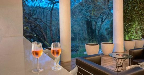 Westwood Hotel: Westhouse bar, overlooking Karura forest