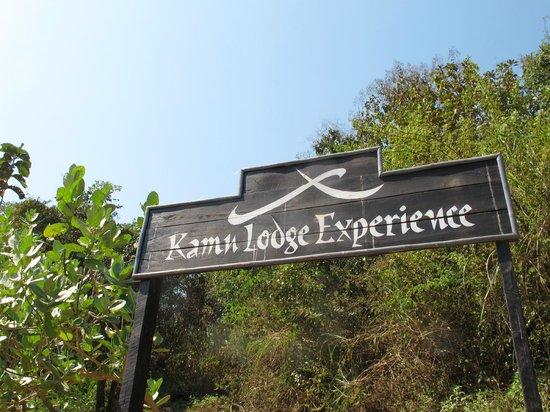 Kamu Lodge : Entrance