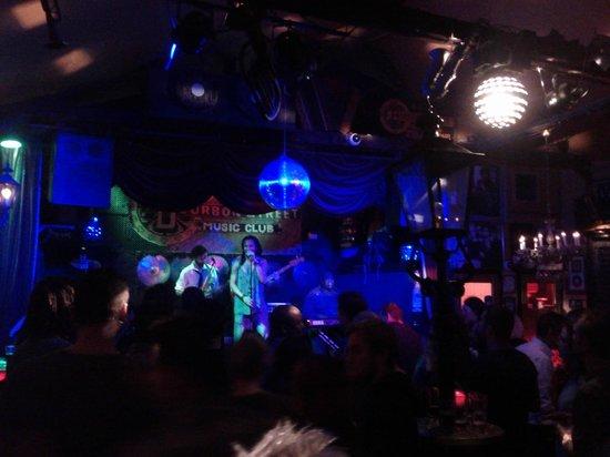 Bourbon Street: Live music