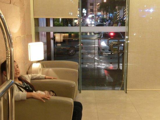 Antel Hotel: ロビー