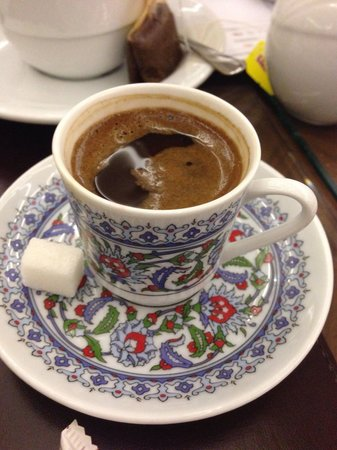 Neorion Hotel: A free Turkish coffee to relax in the hotel