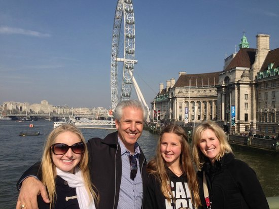 London Private Tours : Greg Dumitru and Family on a London Private tour in March 2014