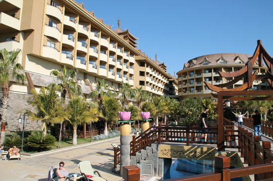 Royal Dragon Hotel: ausblick pool