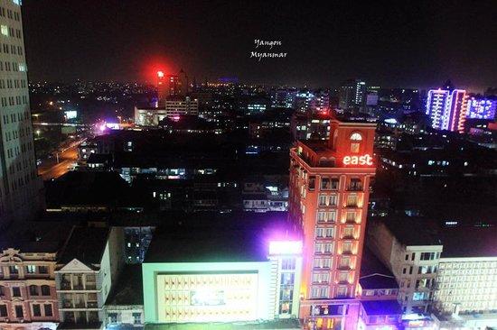 Sule Shangri-La Yangon : View from the room