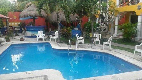 El Acuario Hotel: la cour