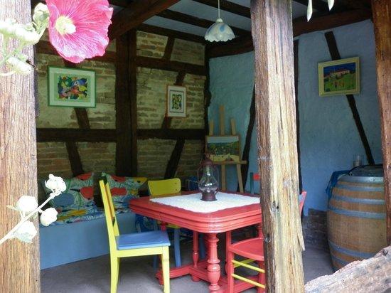 Chambres d'hotes en Bourgogne du DEVU : A l'abri des regards, vue sur le parc