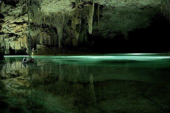 Rio Secreto : la grotte