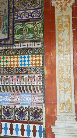 Andalusian Center for Contemporary Art : Azulejos do monastério.
