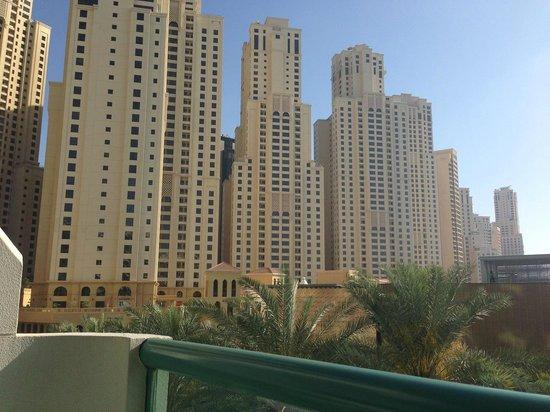 Hilton Dubai Jumeirah : View from room 124