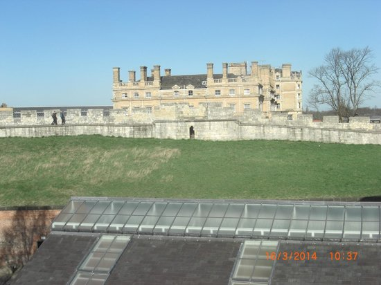 Hampton by Hilton York: View from the rear bedroom window