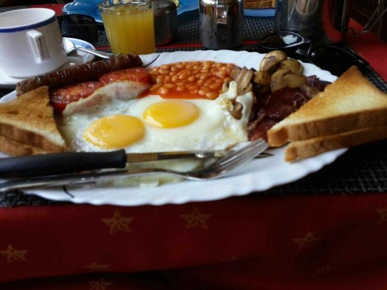 Alexandra's Hotel: English Breakfast