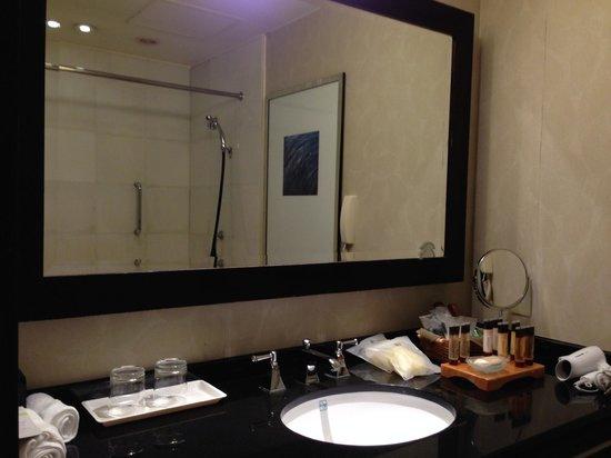 Sheraton Miyako Hotel Tokyo: Room 801 / Bathroom