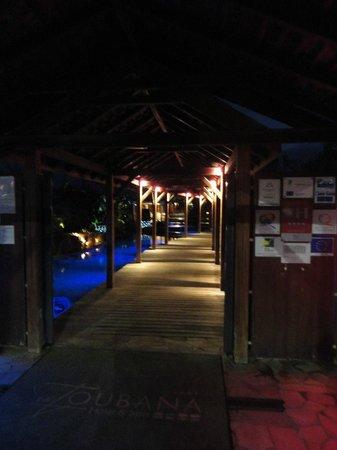 La Toubana Hotel & Spa: L'entrée de l'hôtel