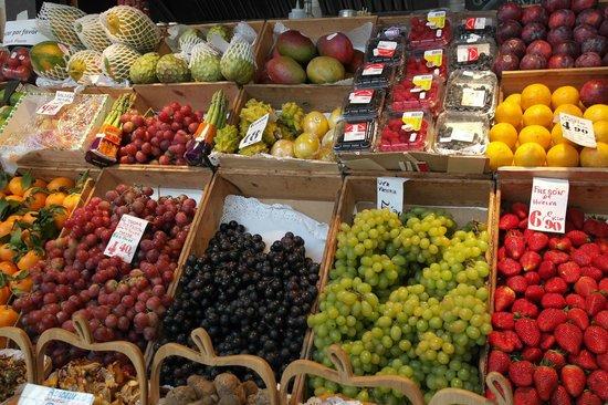 Mercado San Miguel: Banco frutta